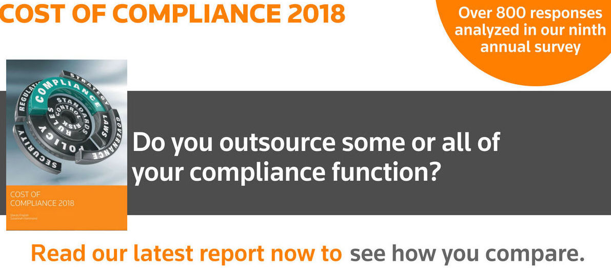 Compliance outsourcing: why it's key to regulatory strategy