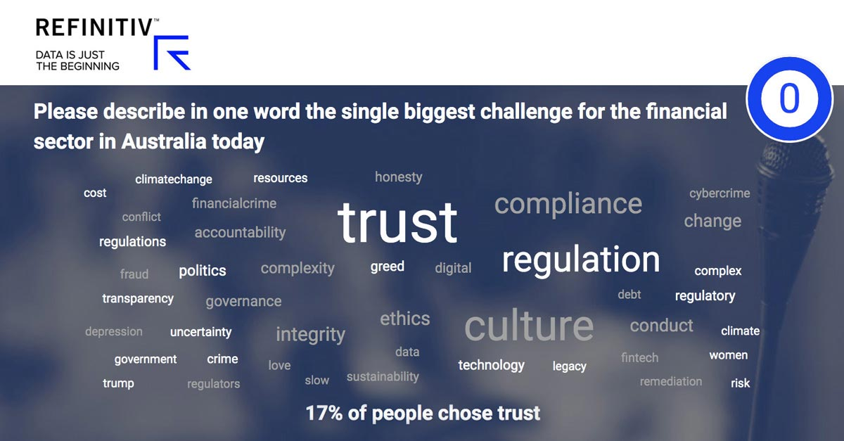 Trust was cited by summit speakers as the number one impediment to participation in the open banking initiative. The dawn of open banking in Australia