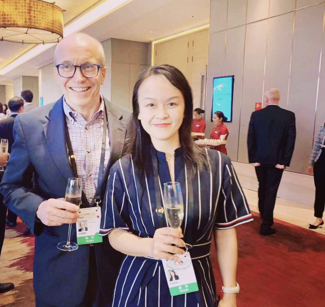 Nicole Chen at The Fortune Global Sustainability Forum 2019.