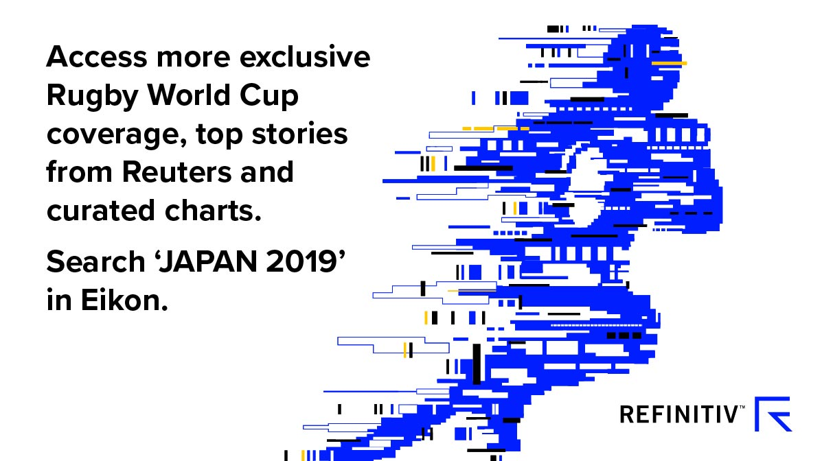 Rugby /World Cup Eikon. A World Cup boost for Japan's economy
