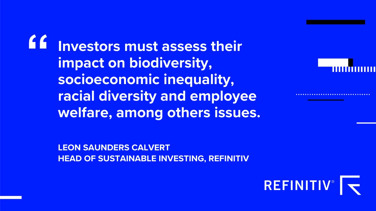 Leon Saunders Calvert quote. Climate risk and the financial system