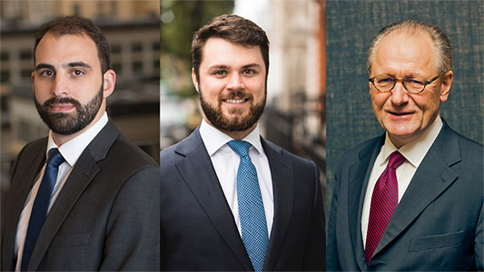 Marco Lo Blanco, Michael Faherty (Portfolio Managers), Karl Safft (Investment Specialist and Sales D-A-CH), Seilern Investment Management.
