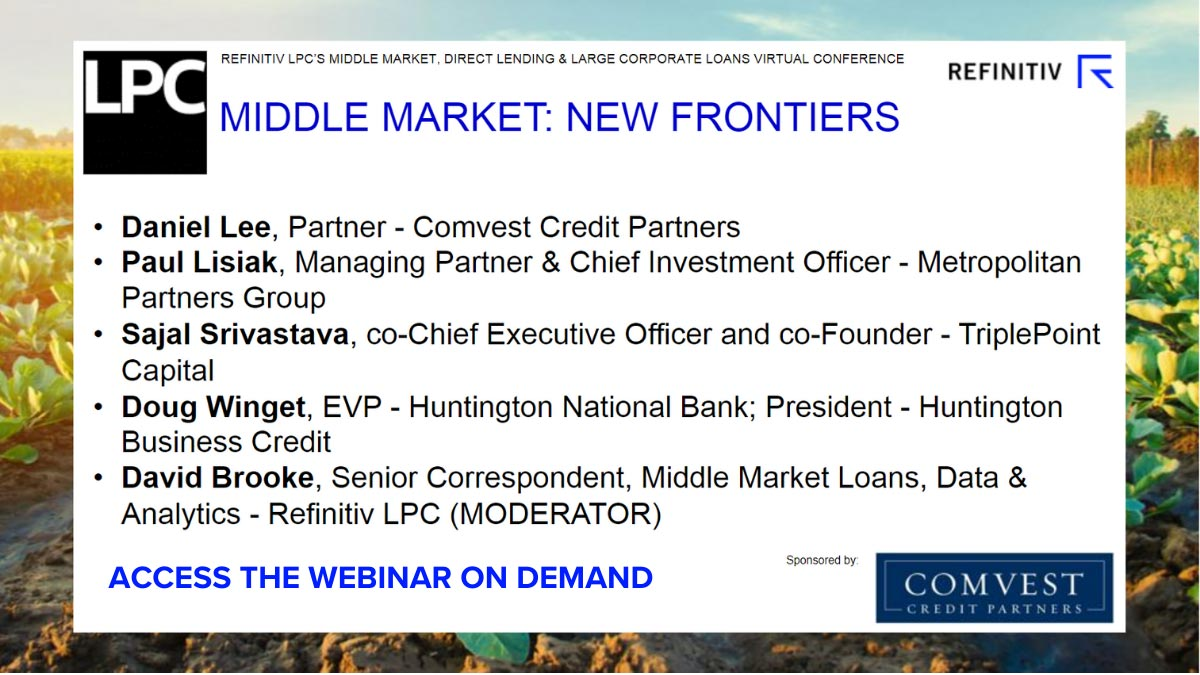 Middle market: new frontiers. How has COVID-19 changed middle-market lending?