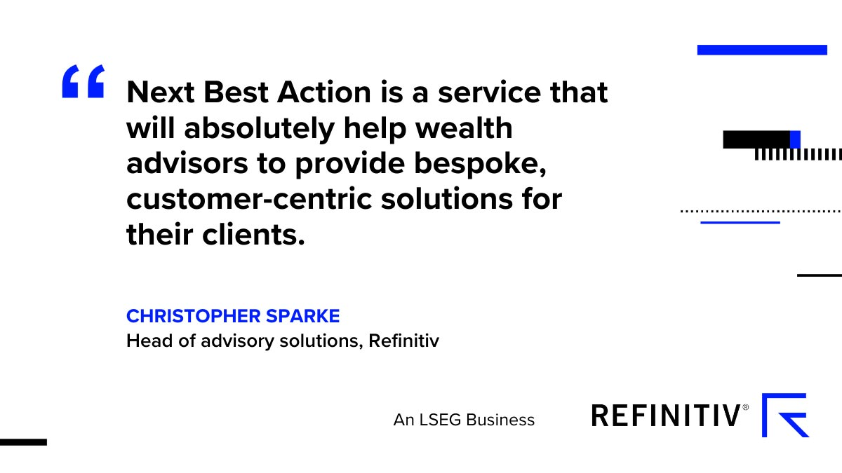 Christopher Sparke on the benefits of the Next Best Action service